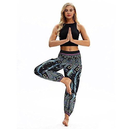 NINGSANJIN Yogahose Push Up Sporthose Fitnesshose Elatisch Mesh Transparente Trainingshose Laufenhose (Hell Blau,Medium)