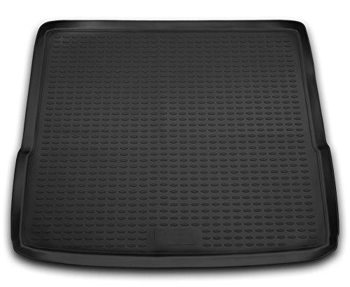 AD Tuning TM15012 Passform Gummi Kofferraumwanne, rutschfest, schwarz