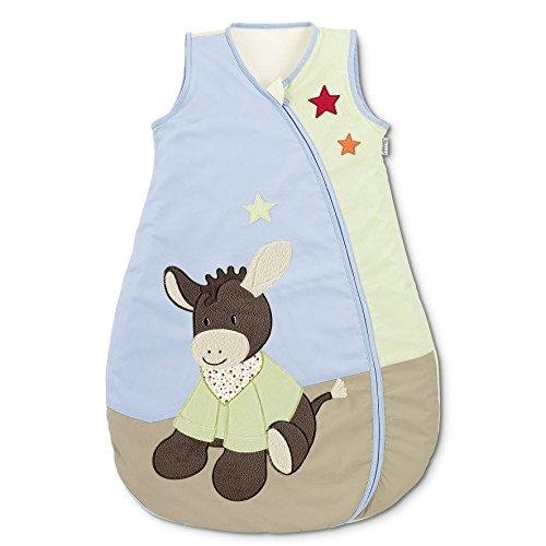 Sterntaler Sommer-Schlafsack für Kleinkinder, Reißverschluss, Größe: 70, Emmi, Bunt