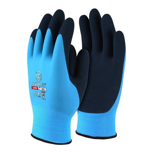 UCI Aquatek Latex-Handschuhe, doppelt beschichtet, Größe XL, 1 Paar