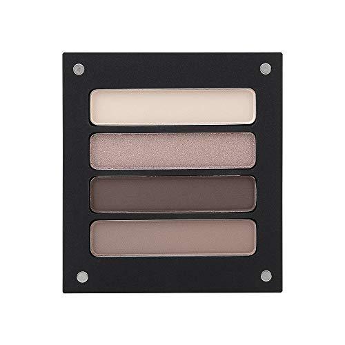 Jolly Dim Makeup Chocolate Eyeshadow-Set - 4 Farben, matt und glänzend, Lidschatten-Palette, trendige Farben