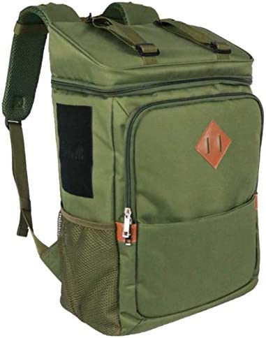 Foshville Insulated Backpack Lightweight with Sternum Blanket Straps Green product image
