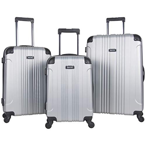 Kenneth Cole Reaction Out Of Bounds 3-Piece Lightweight Hardside 4-Wheel Spinner Luggage Set: 20' Carry-On, 24', & 28'