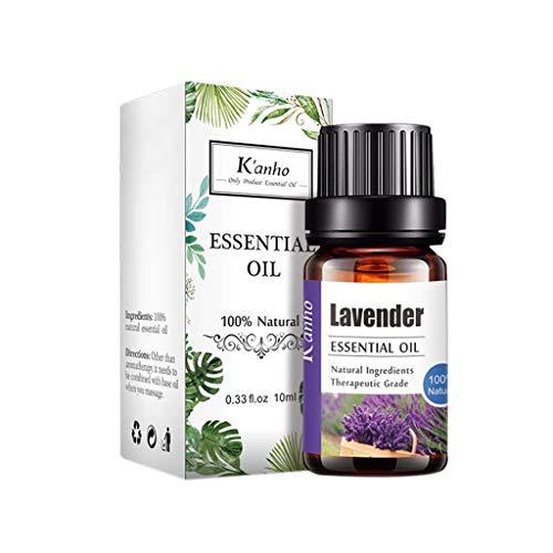 About1988 Aromatherapie Öle, Lavendelöl BIO, Aromatherapie Ätherische Öle, 100{c935e6fe5c8f96fa91fac868acb89578f1b32ef6ce7e05d4cafd8bfa9c470182} naturreines ätherisches BIO Lavendel Öl fein für Diffusor, Luftbefeuchter, Aromatherapie 10ML (H)