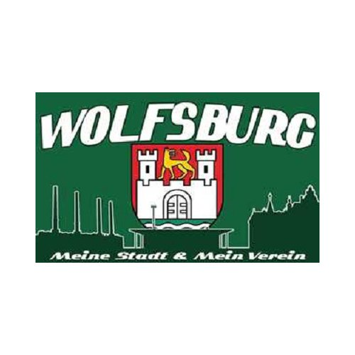 Wolfsburg - Meine Stadt Mein Verein Fahne (F42)