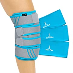 SOOTHING KNEE PAIN RELIEF: Targeting both the front and back of the knee with adjustable compression and hot or cold therapy, the Vive cold knee brace effectively reduces swelling, pain and inflammation due to muscle fatigue, injury or surgery. The s...