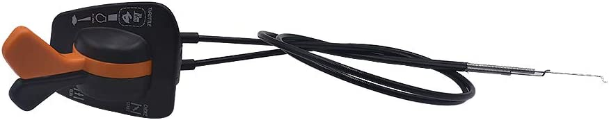 Carbpro Throttle  Choke Cable For John Deere GY20948 Twin Contr