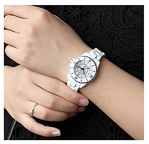 RXSHOUSH Reloj de Cuarzo de Reloj de Mujer Reloj de Pulsera de Puntero Digital a Prueba de Agua a Prueba de Agua