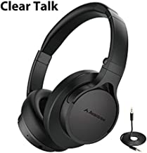 Avantree Bluetooth Headphones Over Ear with Microphone for Home Office, Conference Call, 20 Hrs Foldable Wireless Wired Hi-Fi Stereo Headset with Mic for Computer PC Tablet Cell Phone - HS063