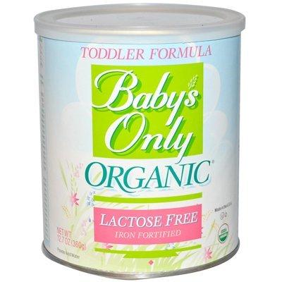 Nouveau-né, bébé, Babys Only Organic Lactose Free Toddler Formula, 12.7 Ounce -- 6 per case. Enfant, Nourrisson, Fillette, Petit garçon, D'enfant