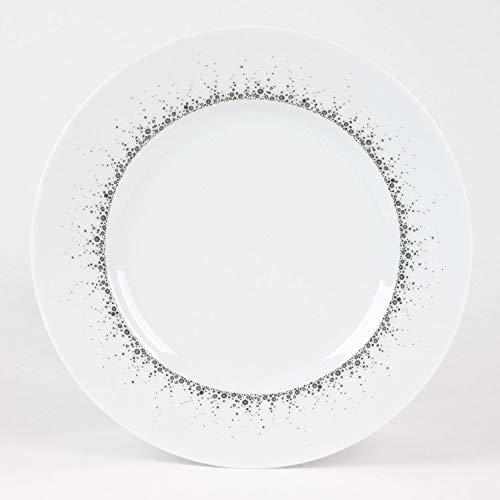 Table Passion - Assiettes à dessert Borealis gris 22cm (Lot de 6)