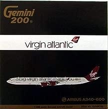 gemini jets virgin atlantic a340 600