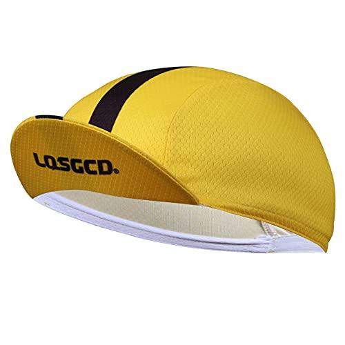 BNNEW Cooling Sport Hat, Sombrero de protección Solar Absorbente de Sudor Gorra Unisex Deportes al Aire Libre Sombrero de Ciclismo para el Sol Casco Forrado con Sombrero Antibacteriano portátil