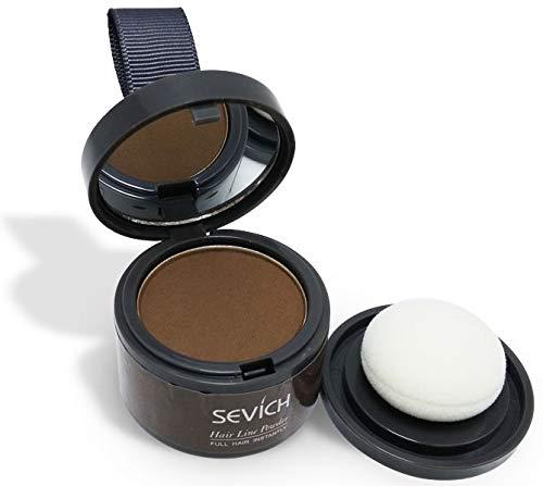 Sevich Haaransatz Puder - Make-up für Ihre Kopfhaut/in 7 Farben - hier (dunkelbraun)