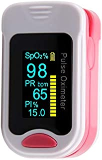 Pinza de dedo oxímetro de pulso, medidor de frecuencia de pulso, medidor de frecuencia cardíaca,pink