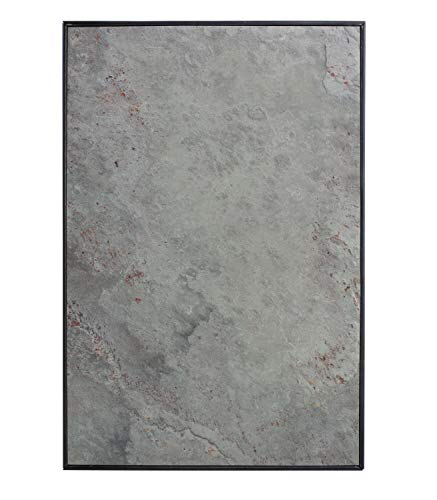 Steinmine - Designmanufaktur Magnetisches Schlüsselbrett, Echt Schiefer Schlüsselboard 30cm x 20cm(Schlüselhalter Magnet) (Purple Grey)