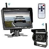 Kabelloses Rückfahrkamera-Set Mit 7' 800*480 LCD-Monitor & 170° Weitwinkel-Rückfahrkamerasystem,...