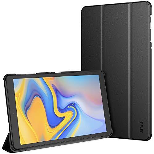 JETech Hülle Kompatibel mit Samsung Galaxy Tab A 10.5 2018 (SM-T590/T595/T597), Auto Schlafen/Wachen, Schwarz