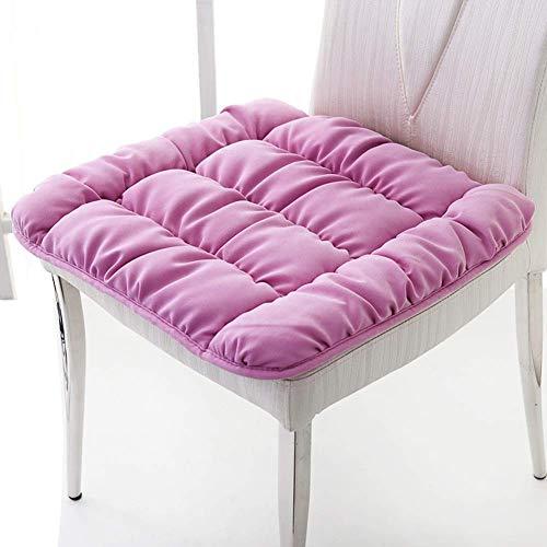 WCY Pennelli da Sedia da Esterno Quadrati, tappetini per sedili Traspiranti Morbidi Tatami Tatami Tatami Tatami Cuscino per Ufficio, casa o Auto Seduto-Rosa 52x52cm (20x20in) yqaae