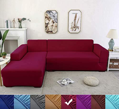 Youjoy Sofabezug, Eck Stretch-Sofabezug Stretch Sofabezug für 1/2/3/4 Sitzer