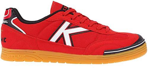 Kelme Trueno Sala, Botas de fútbol para Hombre, Rojo (Red), 46 EU