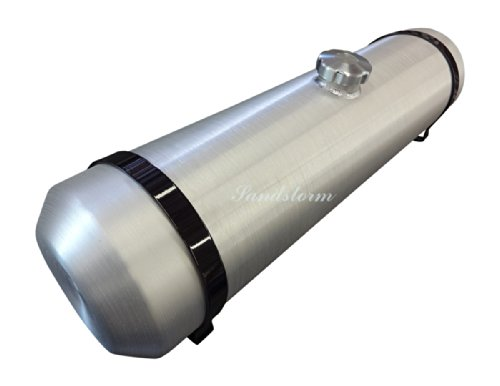 Sandstorm 10x36 Center Fill Spun Aluminum Gas Tank - 12 Gallon - Sandrail - Dune Buggy - Offroad - Trike - Made in the USA!