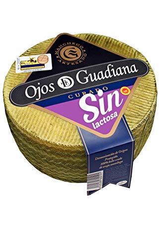 Queso sin lactosa Manchego DO curado 6 meses (formato 3 kg/aprox)