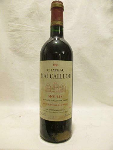 moulis château maucaillou rouge 1999 - bordeaux france