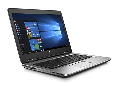 HP ProBook 640 G2 14 pulgadas HD Intel Core i5 256 GB SSD disco duro 8 GB de memoria Windows 10 Pro MAR Webcam DVD grabador Business portátil (certificado y reacondicionado)