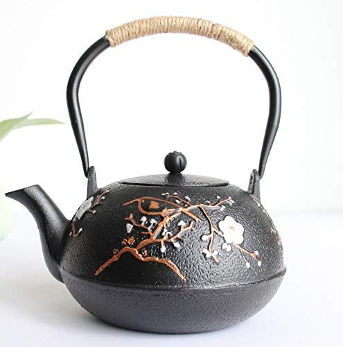 WEII Teekanne Unbeschichtetem Gusseisernen Topf Handgemachte Schmorbraten Roheisen Teekanne Gekocht Tee Vielzahl Von Optional Einfach Zu Verwenden