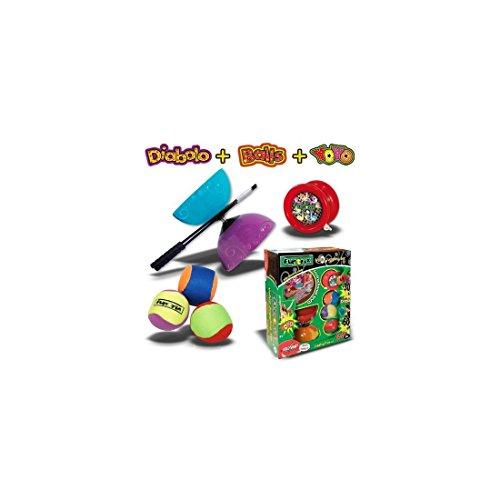 Eolo Sport Ind. S.A. Eolo Sport FX014 - Funtrix Jonglier Setmit Anleitung auf DVD