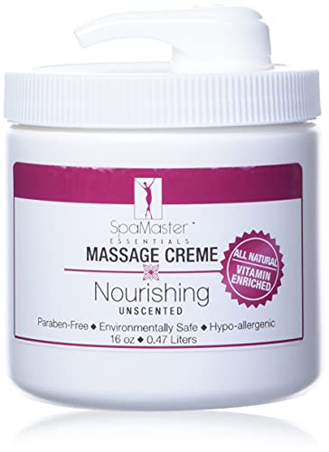 Master Massage Spamaster Unscented 16 Oz Massage Cream