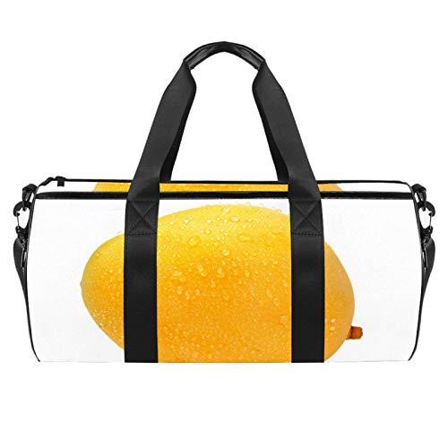 KAIXINJIUHAO 45,7 cm große Sport-Strandtasche mit verstellbarem Schultergurt, Mango