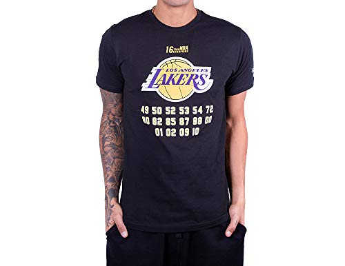 New Era NBA Team Champion T-Shirt ~ LA Lakers