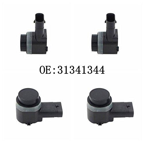 Why Choose Haimall 4pcs PDC Parking sensor 31341344 For C30 C70 S60 S80 V70 XC70 XC90 Auto Reversing...