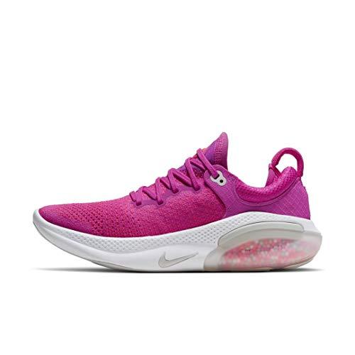 Nike Women's Joyride Run Flyknit Running Shoes (Fire Pink/Vast Grey, 9)