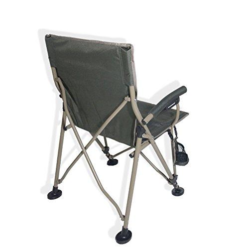 HM&DX Plus De Fauteuil Chaise Chaise Plage Pêche Portable Camping Plein Air Tabouret Self Conduite Tour 2919 Authentique