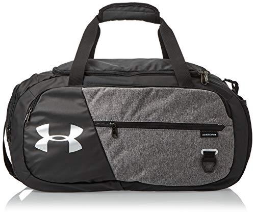 Under Armour Unisex Undeniable Duffle 4.0 Gym Bag, Graphite Medium Heather (040)/Black, Medium