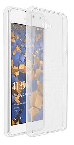 mumbi Hülle kompatibel mit Microsoft Lumia 650 Handy Hülle Handyhülle dünn, transparent