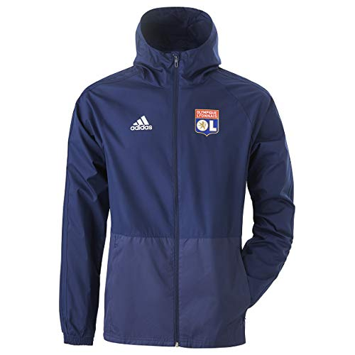 Olympique Lyonnais Coupe Vent Bleu Adidas OL 19/20 (2XL)