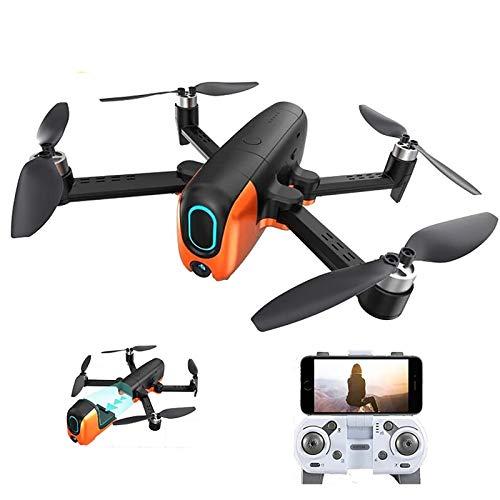 tyuiop Drone RC con Pixel Ultra HD de 6K, GPS 5G WiFi Drone FPV Juguete RC Quadcopter Motor Sin Escobillas Volar 30 Minutos Distancia de Control Remoto Unos 2000 Metros