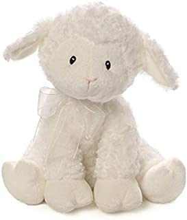 Baby GUND Lena Lamb Jesus Loves Me Musical Stuffed Animal Plush, White, 10""