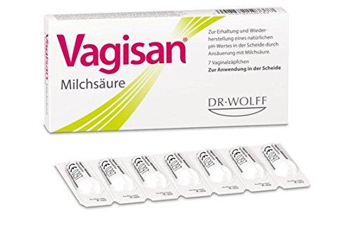 Vagisan Milchsäure Spar-Set 3x7 Vaginalzäpfchen. Scheideninfektionen vorbeugen - Vaginalflora unterstützen