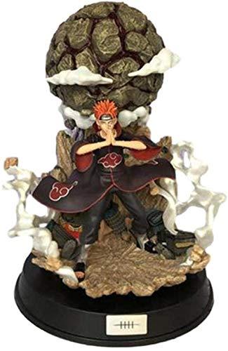 LJUCTD Naruto Pain Tendo Actionfigur Modell PVC Akatsuki Sekte Resonanz Animation Charakter Statue Statue Kinder Geschenk 23CM