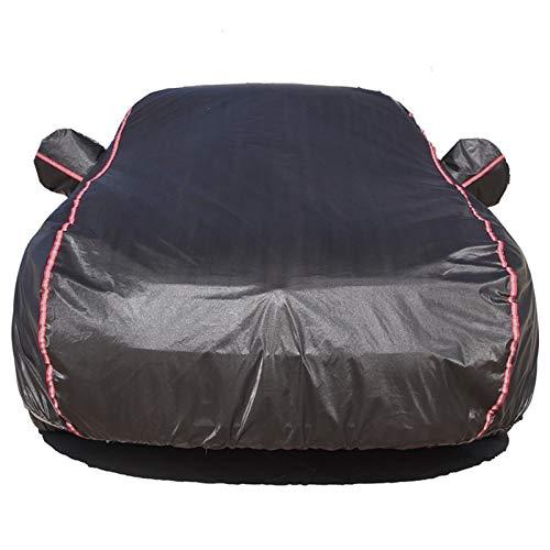 Accesorios de decoración de automóviles Ropa de coche cubierta de coche cubierta de coche protección sol sol aislamiento de lluvia grueso universal cubierta de sombrilla Piezas de automóviles
