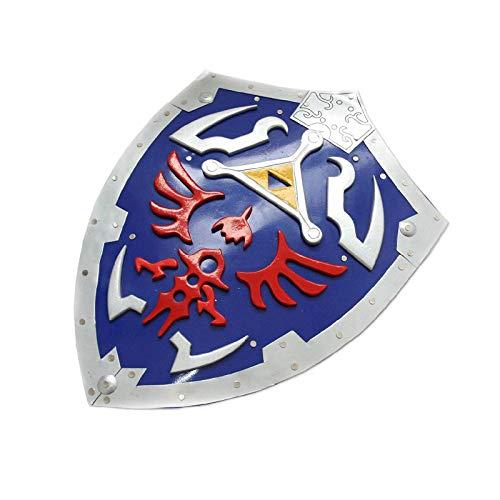 Swords and more The Legend of Zelda - Placa de metal con diseño de Hylia (incluye cuaderno y asa)