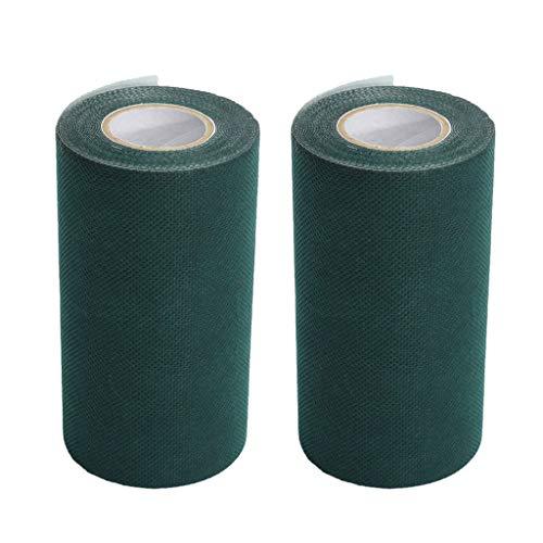 HomeDecTime 2 Stück Kunstrasenbänder Selbstklebende Nahtbänder Synthetic Turf Seam