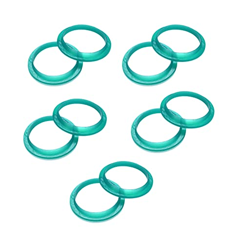 Anillo de sellado, 10 piezas de anillos de sellado de silicona profesional...