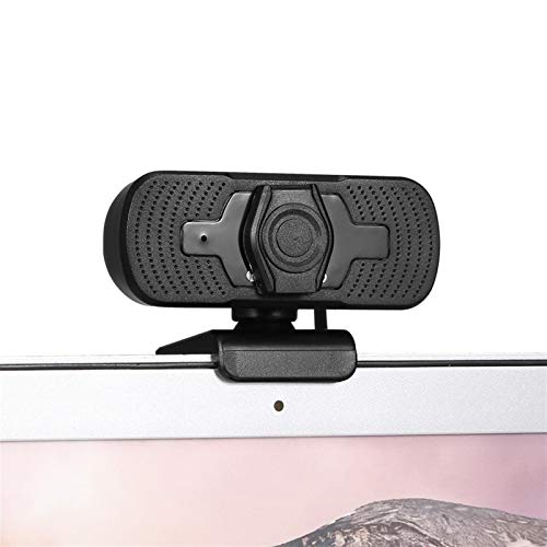 1080P HD Wide-angle Webcam Video Conference Camera USB & Play with Lens Cap & Tripod for Laptop Desktop TV Box Live Streaming Gaming Calling Video Conferencing