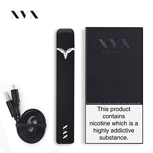 Kit de Cigarrillos Electrónicos - XVX NANO POD - Cigarrillo Shisha Vaporizador - Batería Recargable - Tanque Atomizador Recargable - Vaporizador - CBD